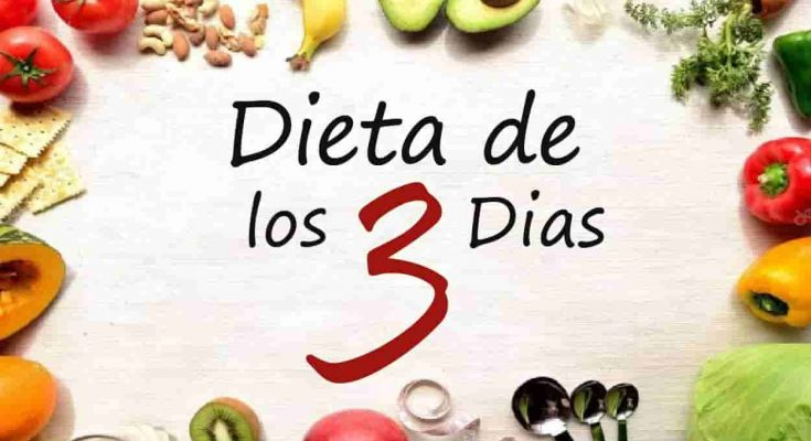 dieta de los 3 días original