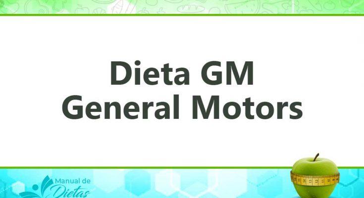 la dieta general motors