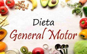 La dieta GM General Motors