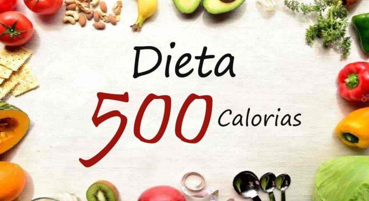La dieta de 500 Calorias