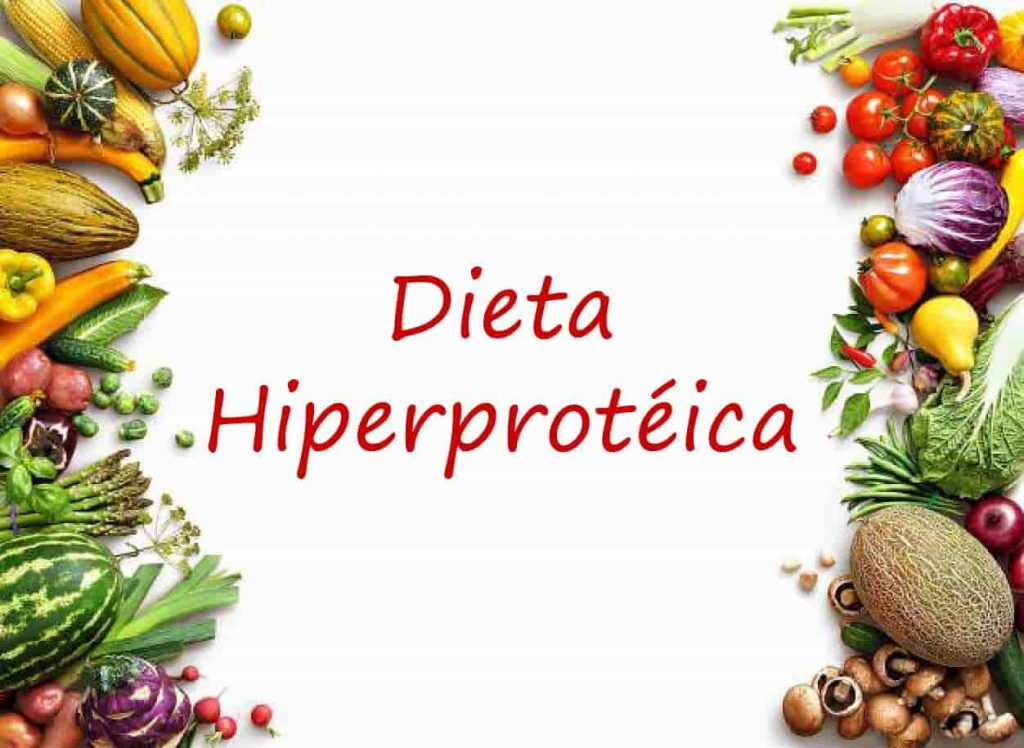 Dieta hiperproteica menu diario