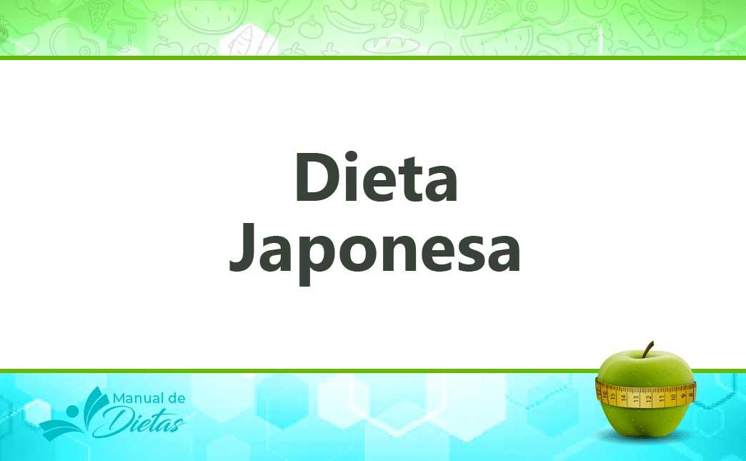 la dieta japonesa