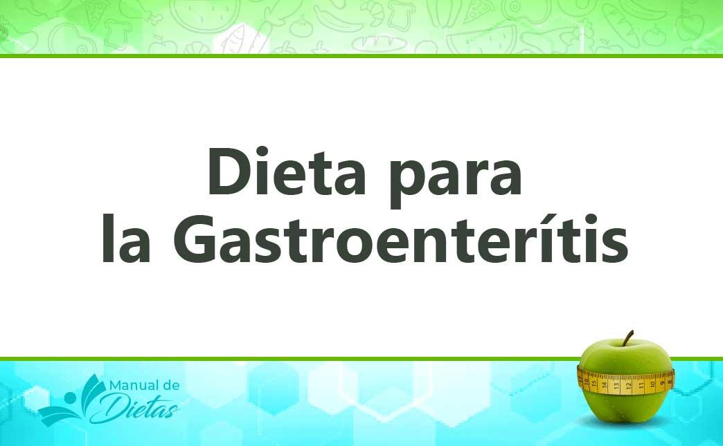 la dieta para la gastroenteritis