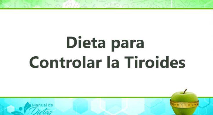 La Dieta para Controlar la Tiroides