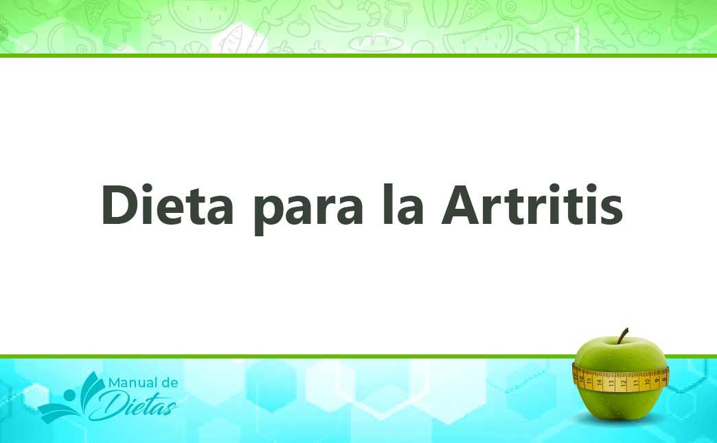 La Dieta para la Artritis