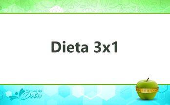 dieta 3x1