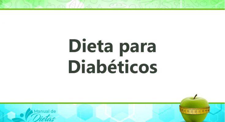 la dieta para diabeticos