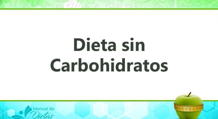 la dieta sin carbohidrato